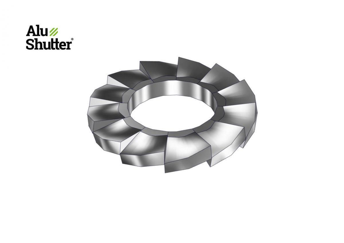 acier inoxydable rondelle lastique m6 a2