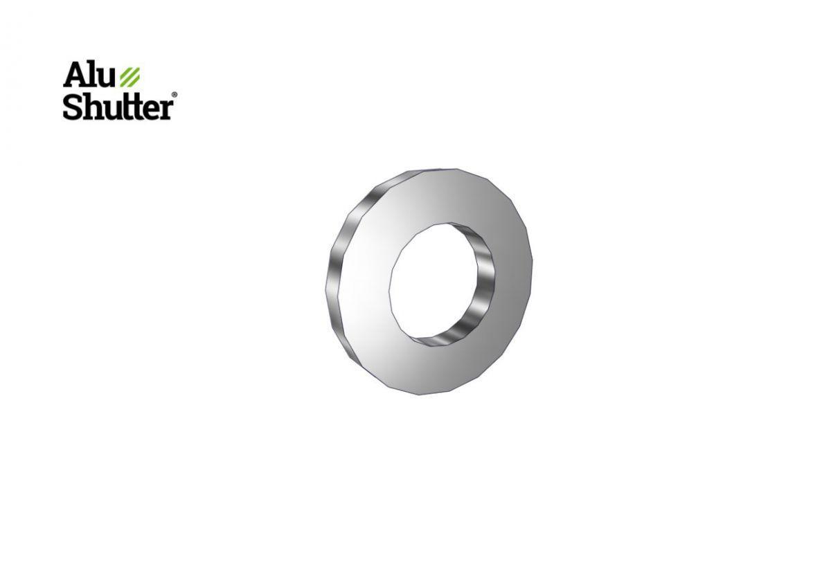 acier inoxydable rondelle plate m5 a2
