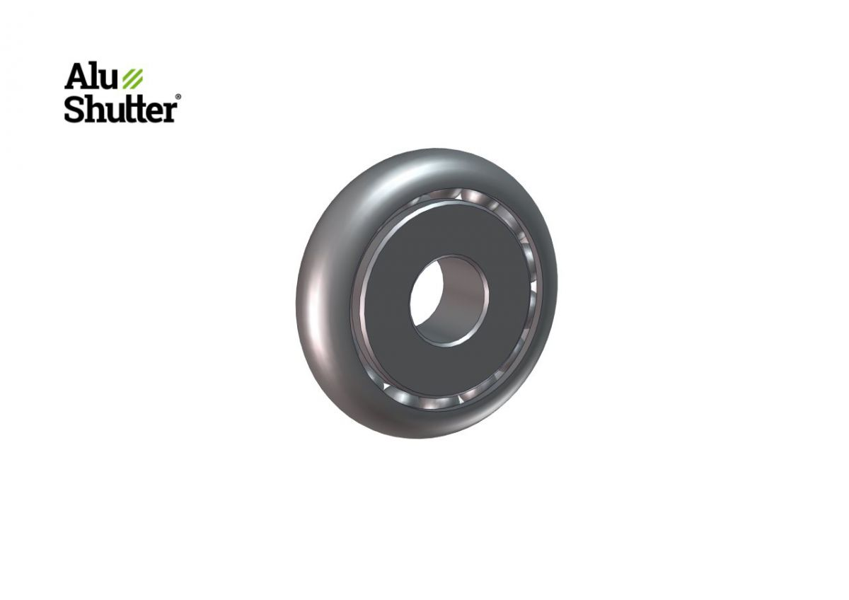 bearing 12mm spring tube 8k60 alushutter