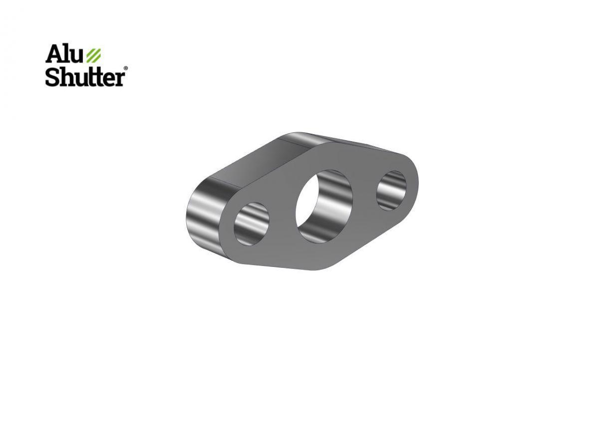 bearing support 40 mm aluminum tube alushutter