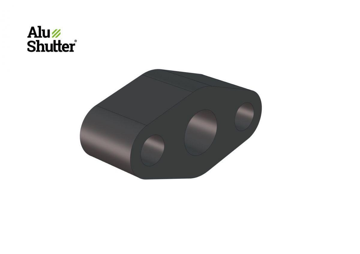 bearing support 40mm plastic tube 15mm alushutter