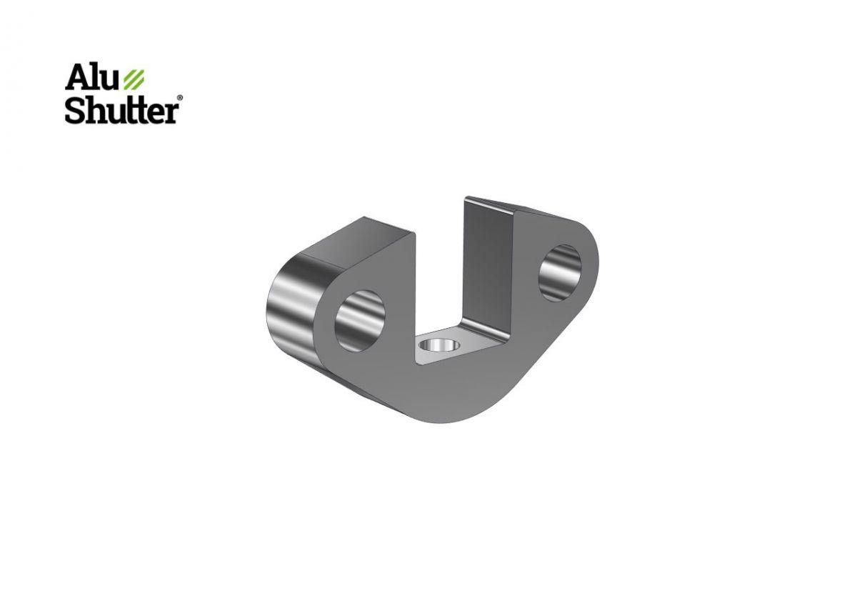 block support spring assembly aluminum alushutter