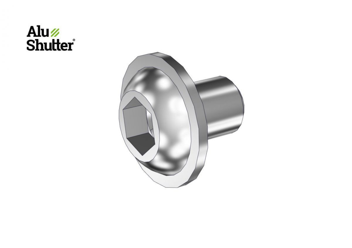 buttonhead flange bolt m6x8 stainless steel a2