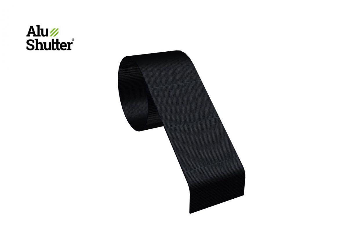 connexion bande 50mm noir alushutter