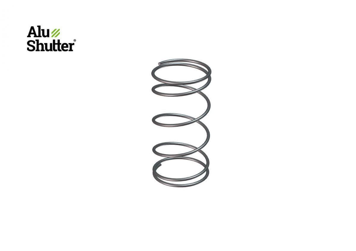 cylindre en acier inoxydable printemps servant double poigne alushutter