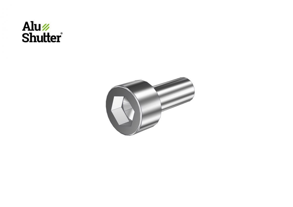 cylindre vis m4x10mm hexagonal galvanis