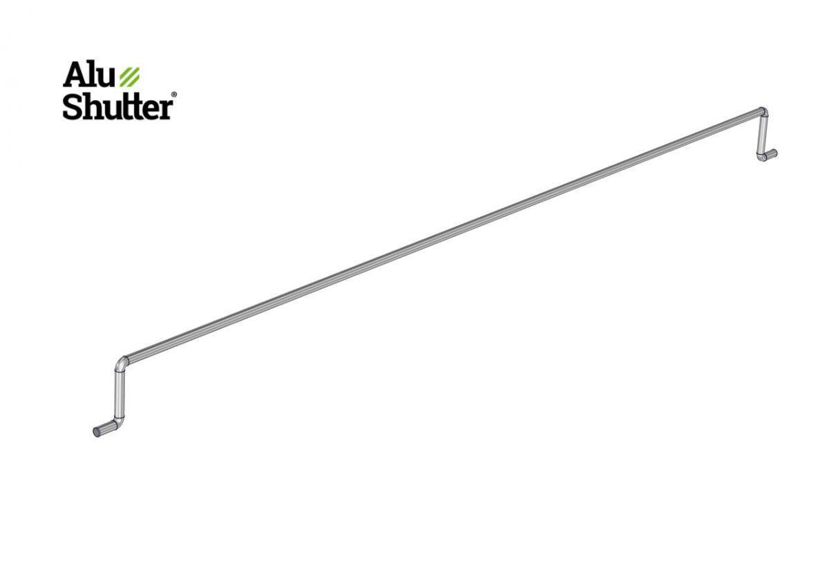 lock rod 8mm stainless steel 304 8mm alushutter