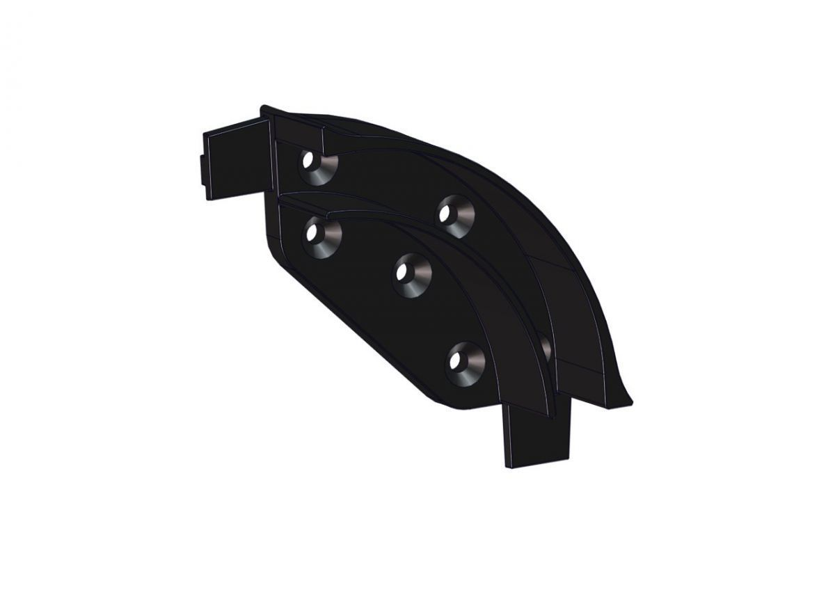 plastic curve lateral guidance r39 alushutter