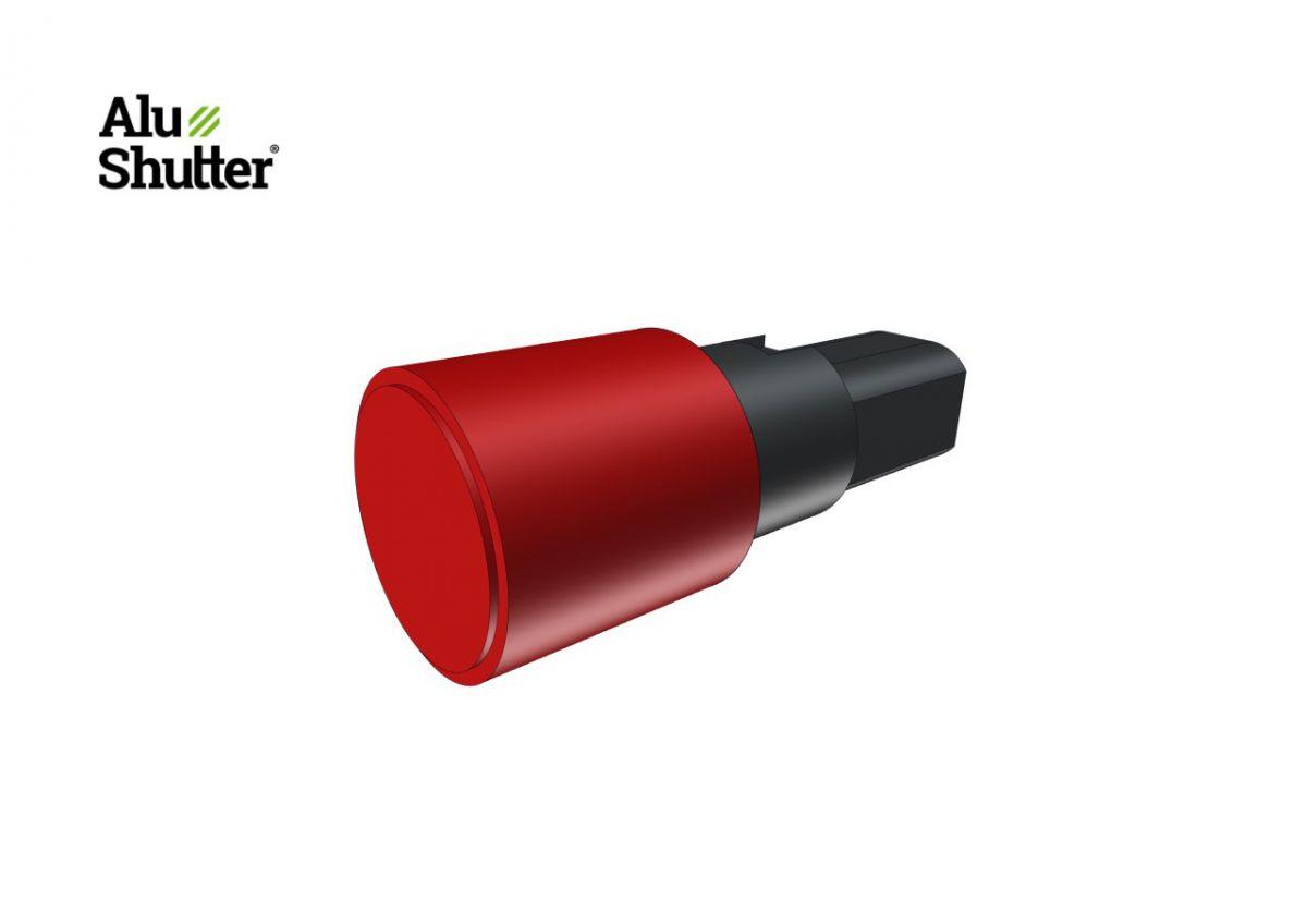 push bottun excl cilinder lock serving double handle alushutter