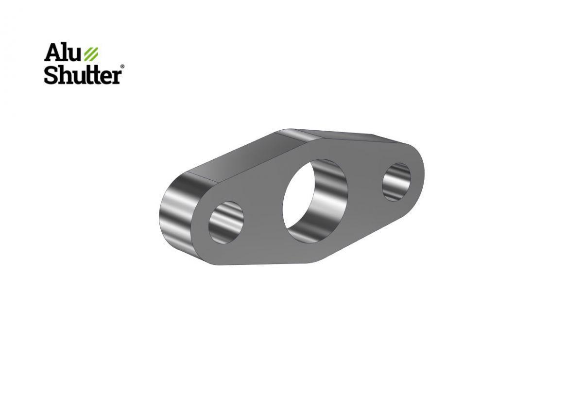 soutien roulement tube 60mm aluminium alushutter
