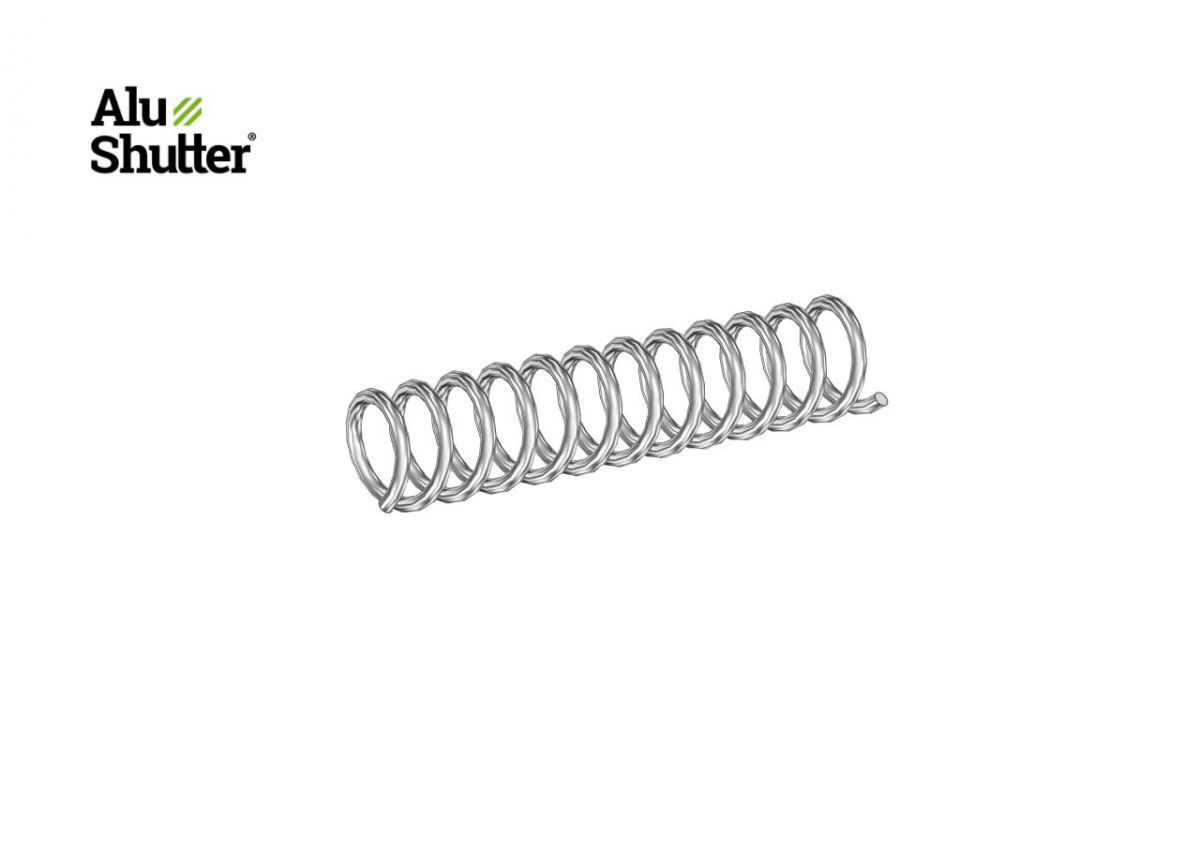 spring slider to lock band alushutter