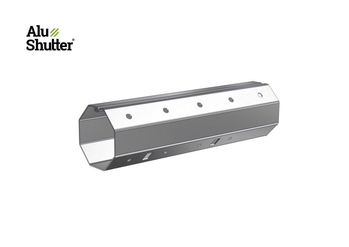 spring tube 8way 40x08mm alushutter