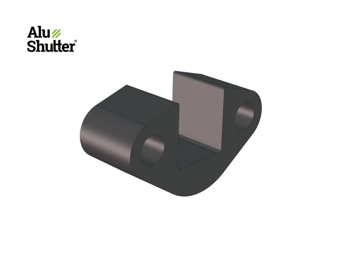 support de bloc paquet de printemps 15mm plastique alushutter