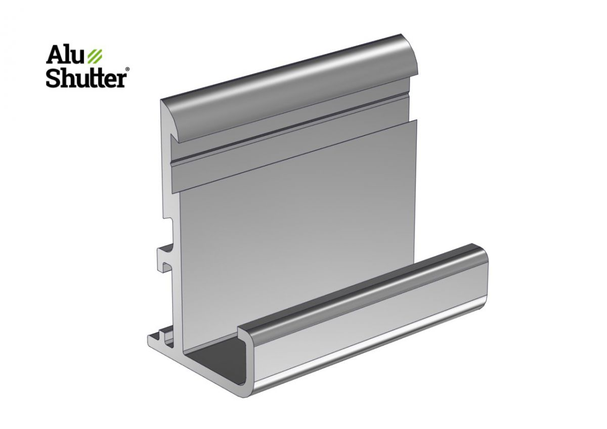 top profile behalf topseal with special trim anodized alu alushutter
